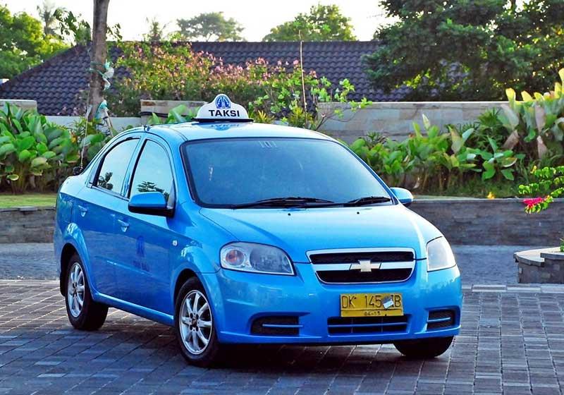 Taxi ở Bali